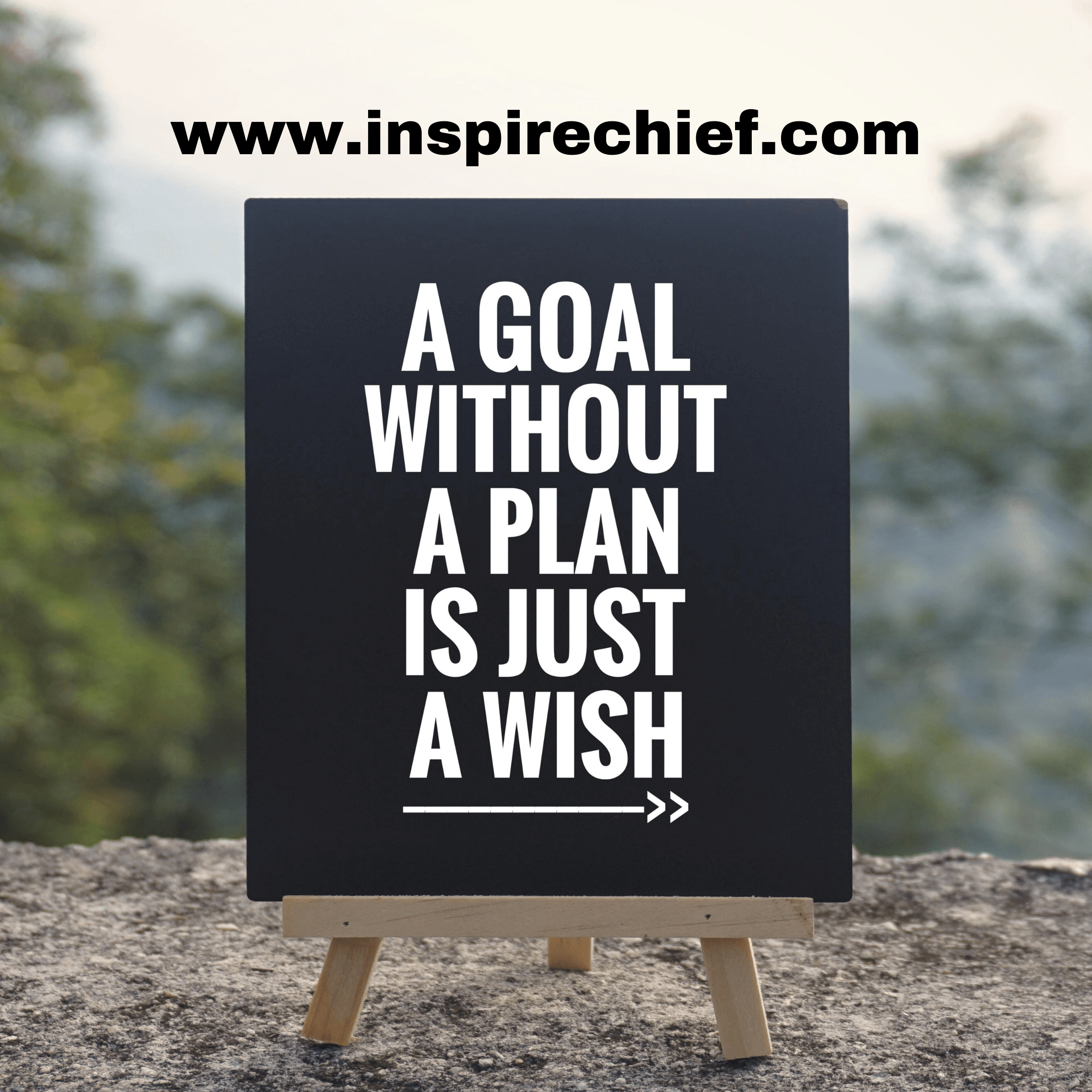 goal-quote-without-plan-wish